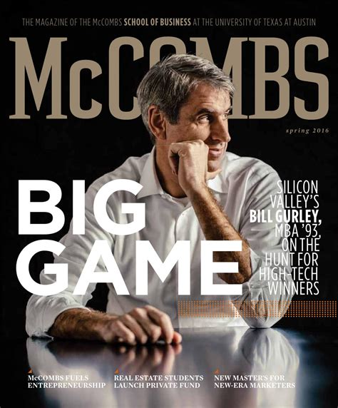 11 10 Forecasting Mba Lucky 7 by Mccombs Magazine 2016 By Mccombs School Of Business