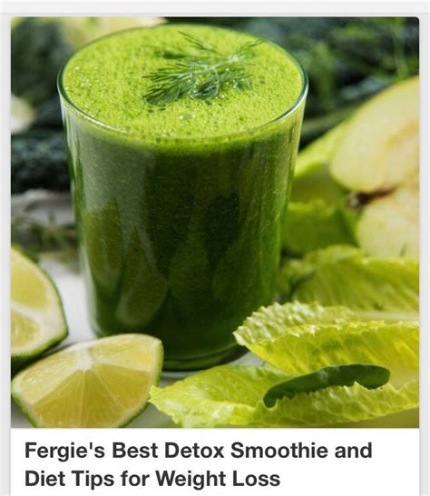 Best Detox Smoothie Diet by Fergie S Best Detox Smoothie Diet Tips For Weight Loss