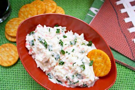 make ahead cold crab dip teaspoon of goodness