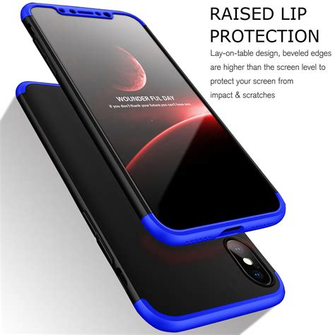 Cafele Ultra Thin Iphone X Free Tempered Glass Original for apple iphone x 10 protective ultra thin cover tempered glass ebay