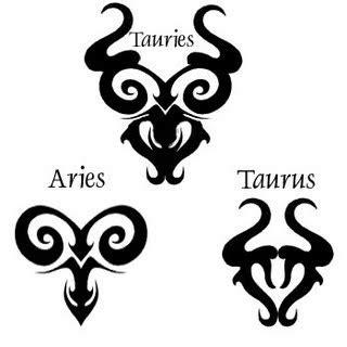 and black designs and black tribal aries zodiac 58 aries zodiac sign tattoos ideas