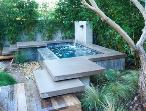 very small garden pool pool pinterest