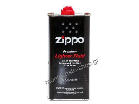 zippo premioum lighter fluid υγρό ζιπέλαιο 355ml 4 23 montecristo είδη καπνιστού και