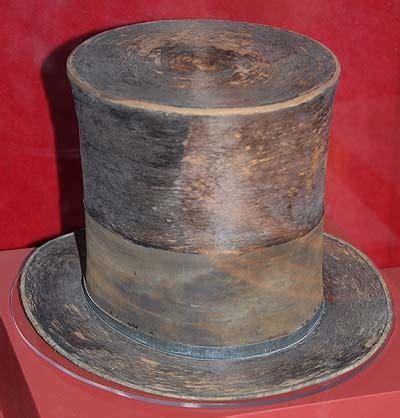 hat facts abraham lincoln s top hat hat shop
