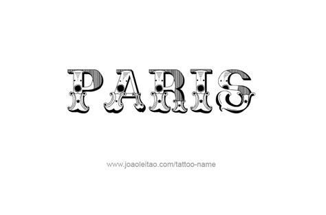 tattoo letters paris paris city name tattoo designs page 5 of 5 tattoos
