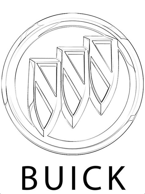 cars logo coloring pages buick logo coloring page coloring pages