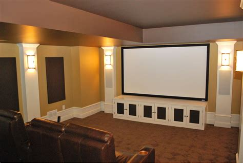 theater speakers  concealed  columns
