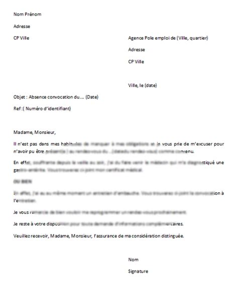 Modã Les Lettre D ã Tã Application Cover Letter December 2015