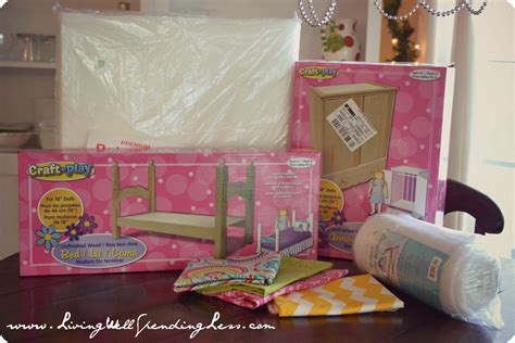 how to make an american girl doll bed diy american girl doll bed part 2 living well spending
