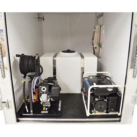 detailing car equipment mobile auto detailing trailer dk5800 standard equipment