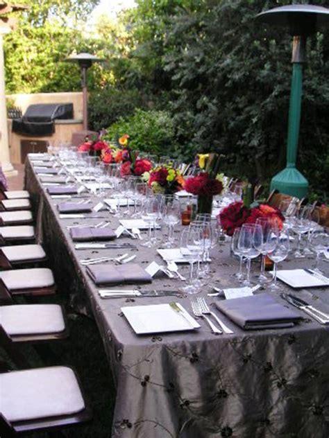 outside dinner ideas we outdoor dinner b lovely events