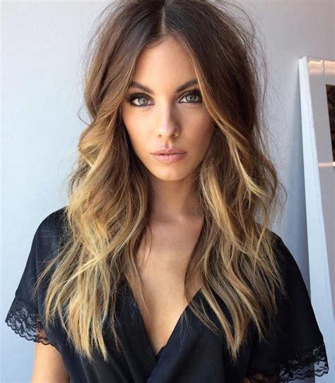 hairstyles do highlights dont show hair color trends 2017 2018 highlights quot messy hair