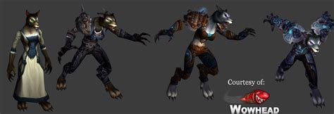 worgen models cataclysm worgen model by zafara1222 on deviantart