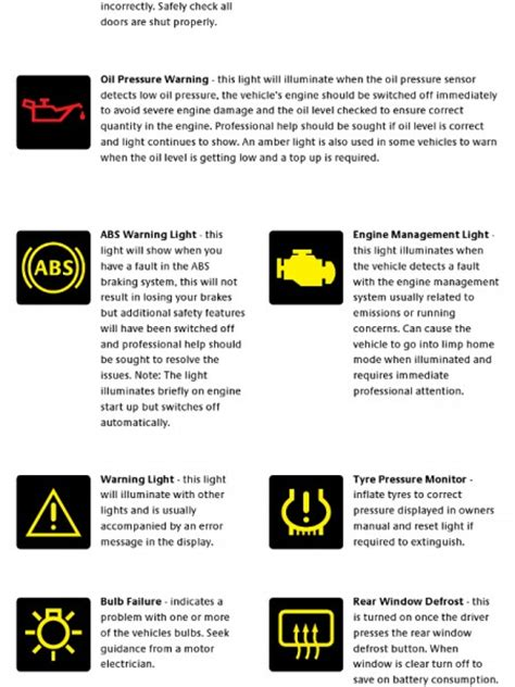 Toyota Dash Symbols Isuzu Dash Light Symbols Review Ebooks