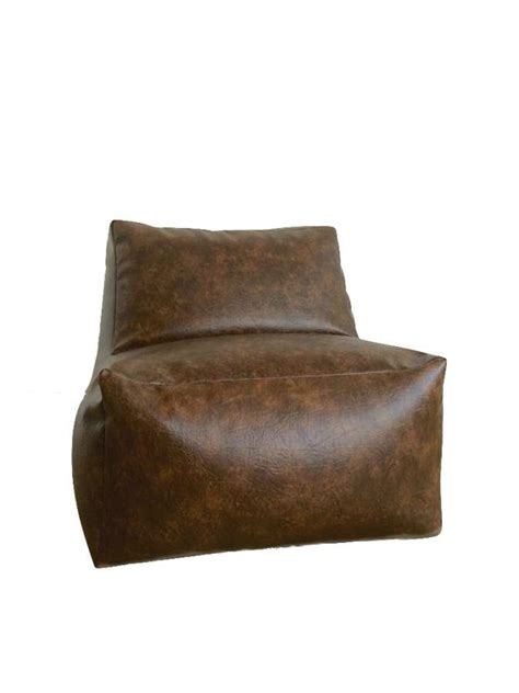 bean bag chair faux leather bean bag chair poufs es