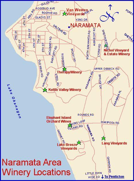 naramata bench map map page penticton naramata bench wineries of bc s mid okanagan valley