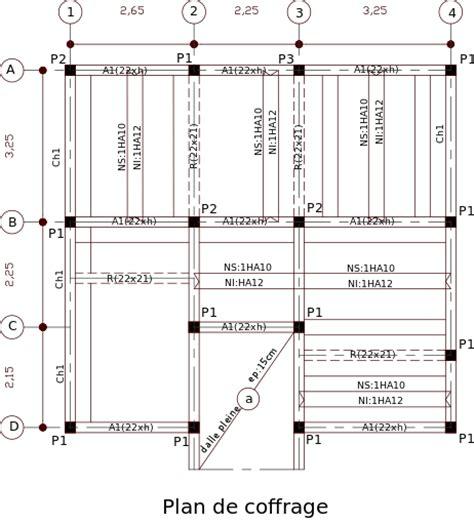 Cout Piscine Beton 2000 by Cours Dessin De Plans Coffrage Ferraillage Et B 233 Ton Arm 233