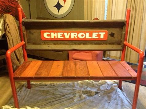 garage bench seat 17 best images about chevy tailgate on pinterest chevy
