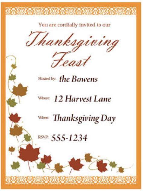 Print A Customizable Thanksgiving Invite From Hgtv Hgtv Thanksgiving Postcard Template