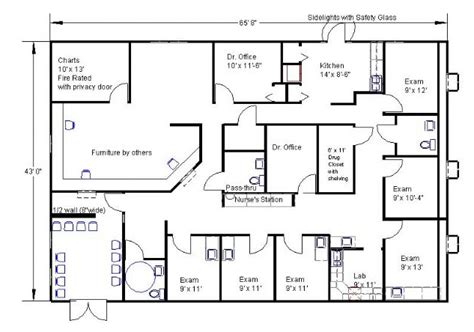medical office floor plans office floor plan sles simple exles of building