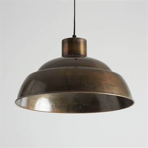 Brass Pendant Lighting Antique Brass Pendant Lights By Horsfall Wright Notonthehighstreet