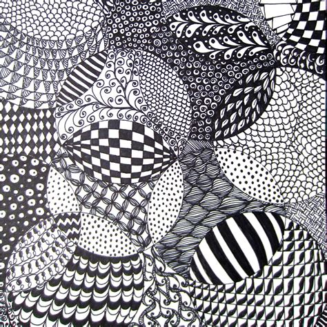 Drawing Zentangle by Free Printable Zentangle Patterns For Beginners Pdf Worksheets