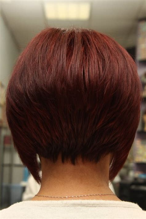how to stack the back of your hair stacked back short hair styles hair pinterest short