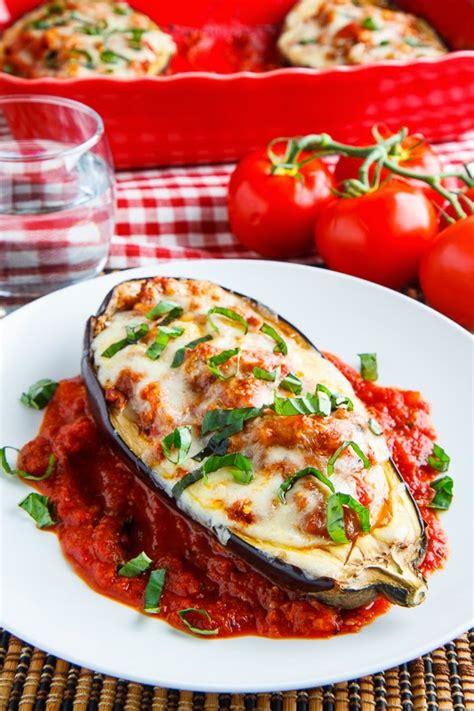 eggplant boats eggplant parmesan boats closet cooking bloglovin