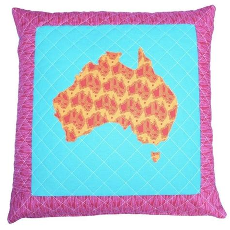 Patchwork Sydney - map of australia cushion tutorial 183 how to sew a patchwork