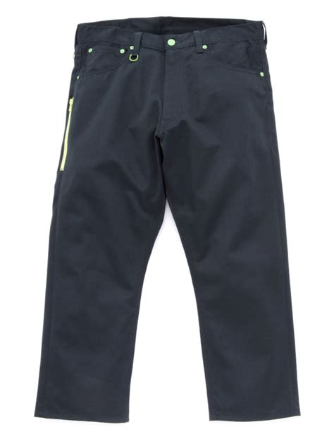 Levis Sues Competitors Pocket Design by Levi S Fenom Cropped Green Sunderys Chinos Hypebeast