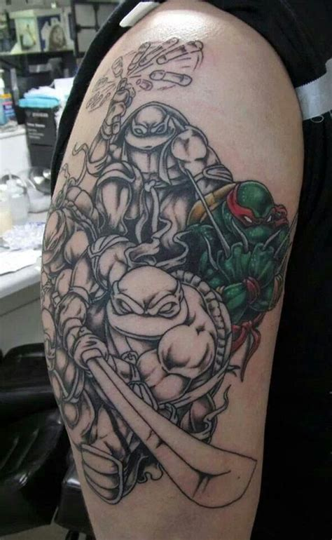 ninja tattoo designs 50 turtle tattoos designs and ideas best