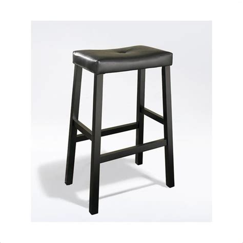 Seat Height Of Counter Stool by Crosley Furniture Bar Height Upholstered Saddle Seat Bar