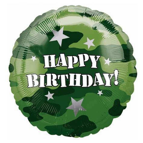 imagenes de happy birthday bro ballon h 233 lium camouflage militaire sp 233 cial anniversaire enfant