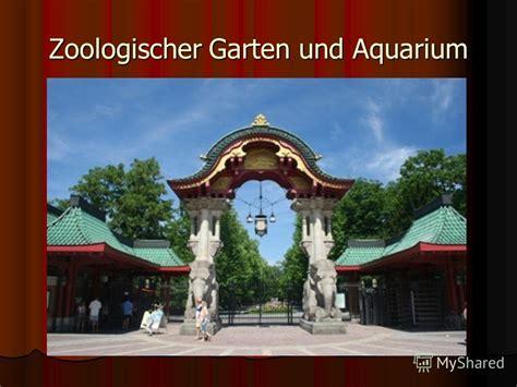 Zoologischer Garten Und Aquarium by презентация на тему Quot первомайская мсош презентация по