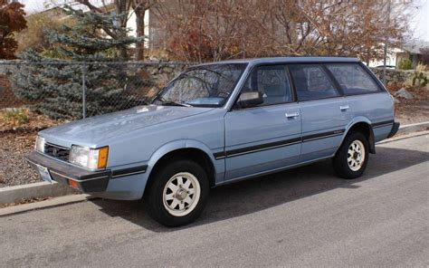 subaru wagon 4wd 5 speed no rust 1986 subaru gl wagon
