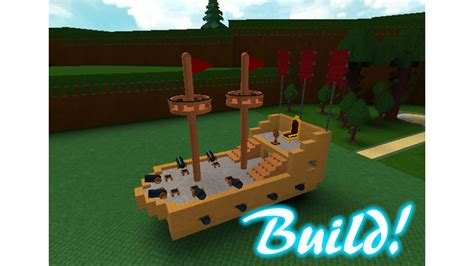 how to make a boat roblox build a boat for treasure roblox