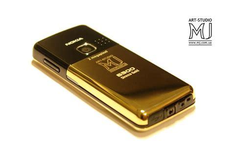 Nokia 6300 Gold Black studio mj эксклюзивные телефоны ручной работы