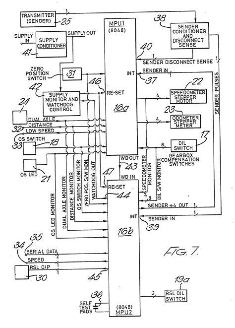 kienzle tachograph wiring diagram metra 70 6502 receiver wiring harness locally 77342 51