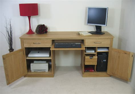 big computer desk fusion oak furniture large computer desk table tall wide