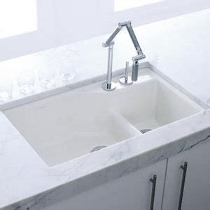 White Undermount Kitchen Sinks K6411 2 0 Indio White Color Undermount Bowl Kitchen Sink White At The Stock Market