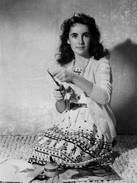 Elizabeth Still Misses Dead Chipmunk Nibbles by Elizabeth For Quot National Velvet Quot 1944 Elizabeth