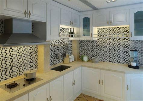 kitchen wall panels backsplash cheap all home design ice crack glass tiles for kitchen backsplash black white