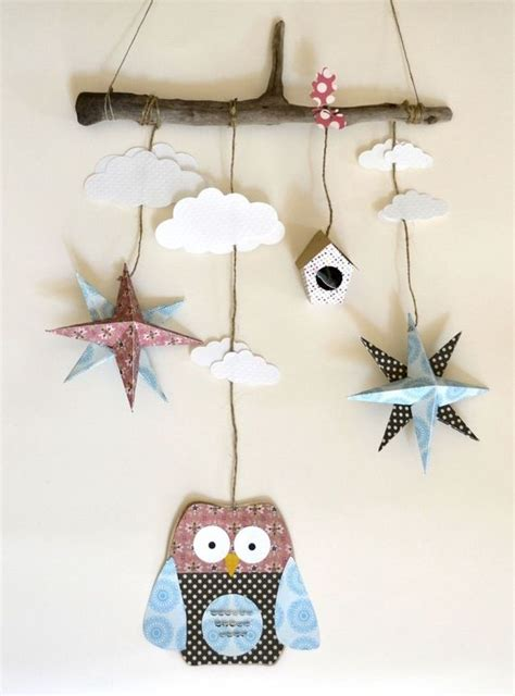 themes for mobile x25 mobile hibou 233 toile origami chambre d enfant id 233 es