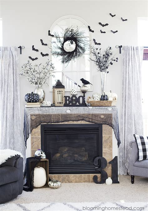 halloween home decor pinterest diy glam halloween wreath eighteen25