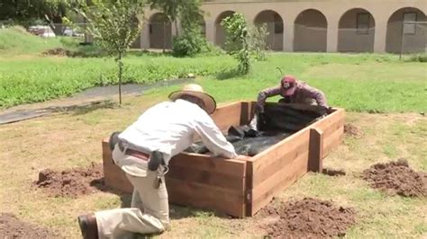 how to build a raised garden bed how to build a raised garden bed youtube