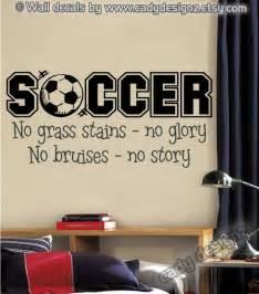 Soccer Room Decor Soccer Sports Vinyl Wall Decal Boys Room Decor By Studio378decals