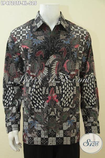 Kemeja Batik Pria Terbaru Lengan Panjang Mewah Elegan baju batik lengan panjang mewah busana kerja elegan dengan