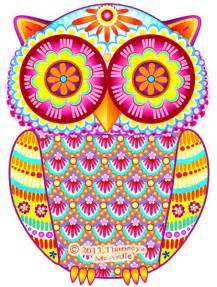 colorful owls colorful owl by thaneeya mcardle thaneeya
