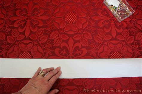 pattern matching fabric ecclesiastical sewinglichfiled liturgical fabric pastoral