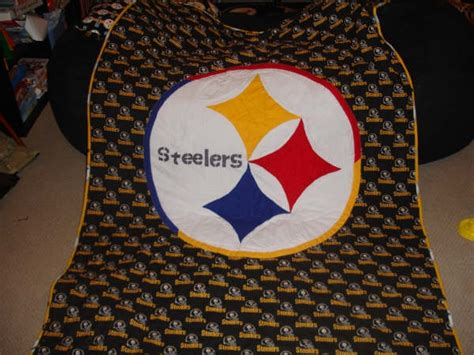 Steelers Quilt by Steelers Quilt